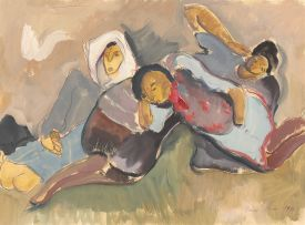 Irma Stern; Women Resting