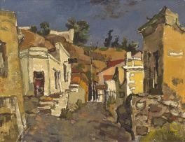 Gregoire Boonzaier; The Wash House, Malay Quarter