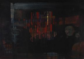 Larry Scully; Abstract, from the Hillbrow Series