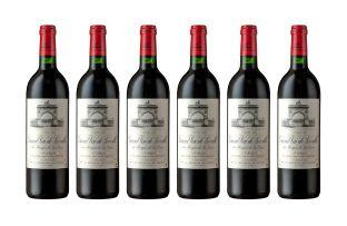 Leoville Las Cases; St Julien; 1996; 6 (1 x 6); 750ml