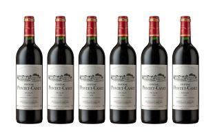 Pontet Canet; Pauillac; 1996; 6 (1 x 6); 750ml