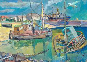 Alexander Podlashuc; Fishing Harbour, Port Elizabeth, April 1966
