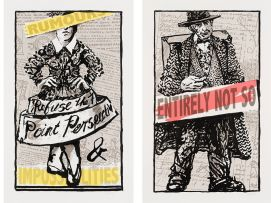 William Kentridge; Rumours and Impossibilities; Entirely Not So; two