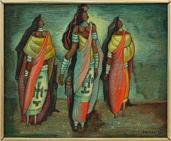Alexis Preller; Three (Mapogga) Women