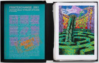 Various Printmakers; PRINTEXCHANGE 2001