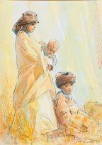 Titta Fasciotti; Xhosa Women and Child