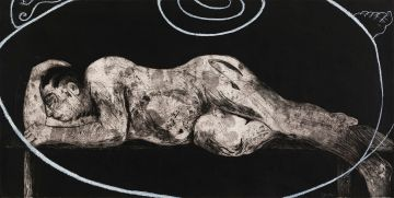 William Kentridge; Ubu Sleeper