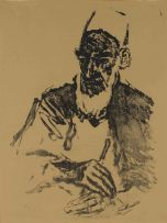 Fritz Krampe; Arab with Fez