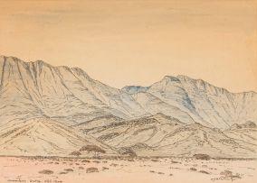 Jacob Hendrik Pierneef; Usakos, SWA (Namibia)