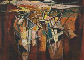 Nico Roos; Landskap Improvisasie (Landscape Improvisation)