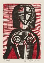 Cecil Skotnes; Female Figure
