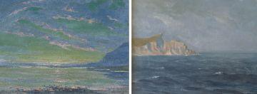 George William Pilkington; Seascapes, two