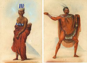 Frederick Timpson I'Ons; Xhosa Woman and Child; Xhosa Chief