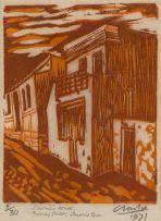 Peter Clarke; Slarmie's House, Thomas Street, Simon's Town