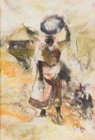 Welcome Koboka; Woman Carrying a Pot