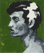 Frans Smit; Portrait in Green