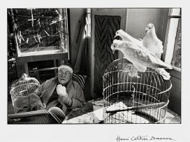 Henri Cartier-Bresson; Henri Matisse, Vence, France, 1944