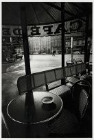 Jeanloup Sieff; Cafe de Flore Paris, 1976