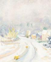 Maud Sumner; Winter Landscape