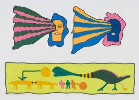 Walter Battiss; Creation