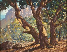 Nils Andersen; A View through Trees