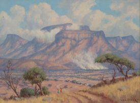 Willem Hermanus Coetzer; Drakensberg van af die Laeveld