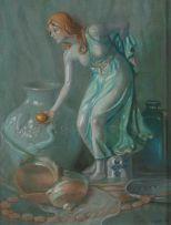 Willem Hermanus Coetzer; Still Life with Figurine