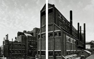 David Southwood; The Johannesburg Gas Works, diptych