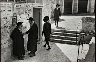 Henri Cartier-Bresson; Jerusalem, Israel, 1967