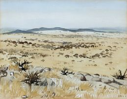 Walter Westbrook; Arid Landscape