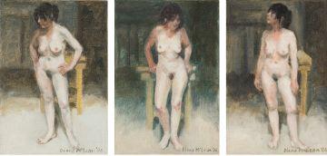 Diane McLean; Nude Studies, three