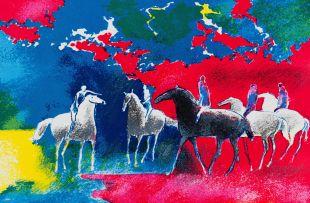 Paul Guiramand; Five Horsemen