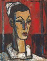 Maurice van Essche; Head of a Harlequin