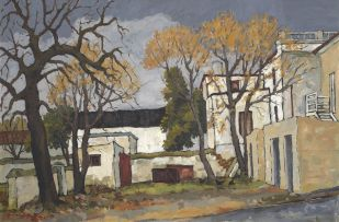 David Botha; Buildings, Paarl