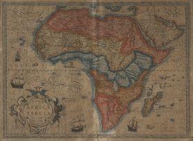 Jodocus Hondius; Nova Africae Tabula Auctore