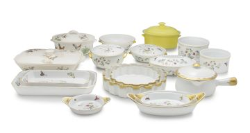 A miscellaneous group of Royal Worcester tureens and soufflé bowls, 20th century