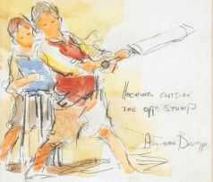 Adriaan Boshoff; Hooking Outside the Off Stump
