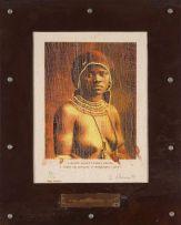 Sue Williamson; Tourist Brochure Series: A Bantu Beauty