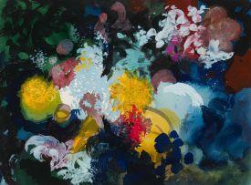 John Piper; Flowers at Fawley