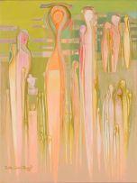 Bettie Cilliers-Barnard; Abstract Figures