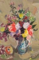 Gregoire Boonzaier; Mixed Flowers (no 23)