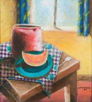 Kagiso Patrick Mautloa; Still Life with Watermelon