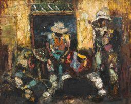 Ephraim Ngatane; Miners on Leave