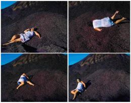 Berni Searle; Yield; Free Fall; Descent II; Descent III; four