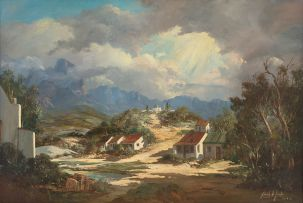 Gabriel de Jongh; Kramat on a Hill