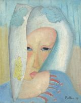 Alexis Preller; Woman in Blue