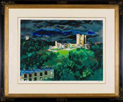 John Piper; Conisbrough Castle, South Yorkshire