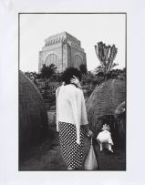 David Goldblatt; At the Voortrekker Monument, on the Day of the Covenant