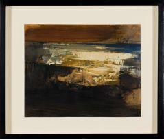 Wim Blom; Abstract Coastal Landscape