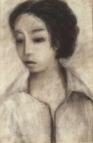 Pieter van der Westhuizen; Portrait of a Girl